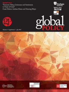 Special Issue: Economic Policy, Governance and Institutions in Times of Crisis