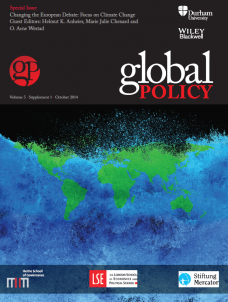 Special Issue: Changing the European Debate: Focus on Climate Change
