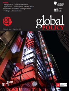Global Policy Vol 6, Issue 3, September 2015