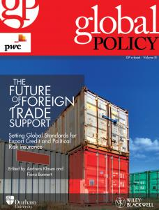 The Future of Foreign Trade Support: Setting Global Standards for Export Credit