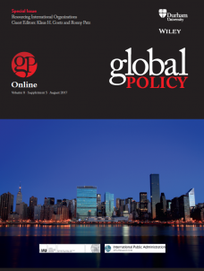 Special Issue: Resourcing International Organizations