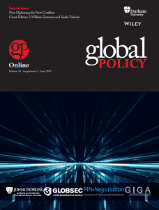 Special Issue - New Diplomacy for New Conflicts