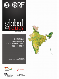 Regional Planning for Sustainable Land Use in India