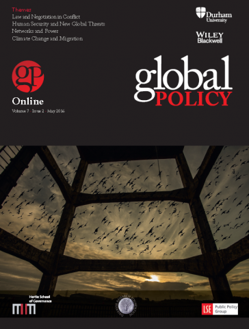 Global Policy Vol 7, Issue 2, May 2016