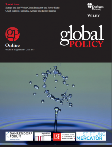 Special Issue: Europe and the World: Global Insecurity and Power Shifts