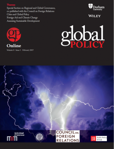 Global Policy Vol 8, Issue 1, February 2017