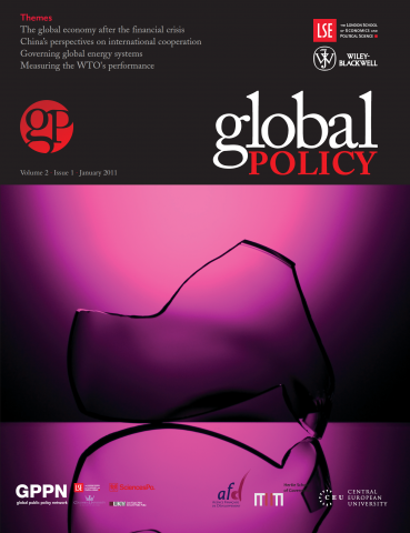 Global Policy Volume 2, Issue 1 (January 2011)