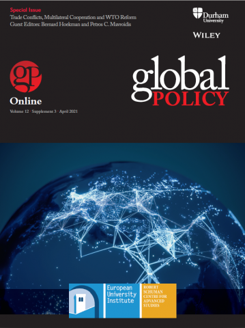 Special Issue - Trade Conflicts, Multilateral Cooperation and WTO Reform