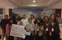 Where were the Youth at the 2018 Global Land Forum?